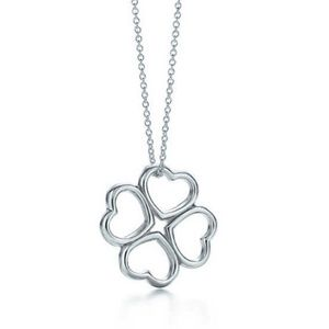 Tiffany & Co. Heart Clover Pendant